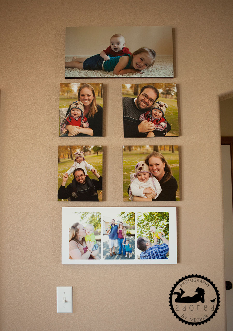 Client's Wall Display photos by Adored by Meghan Tri-Cities, WA