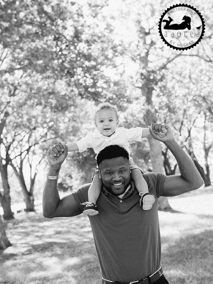 Father and Son Kennewick WA Children's photographer adored by meghan rickard photography