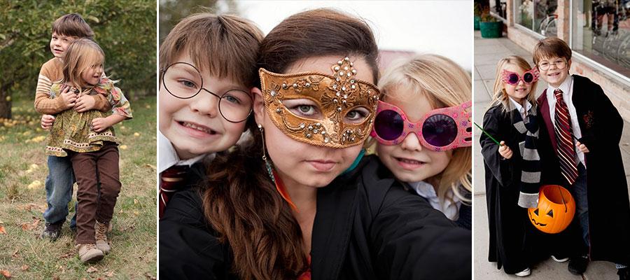Preschooler and kids halloween bill's berry farm and harry potter and luna lovegood uptown shopping center richland wa