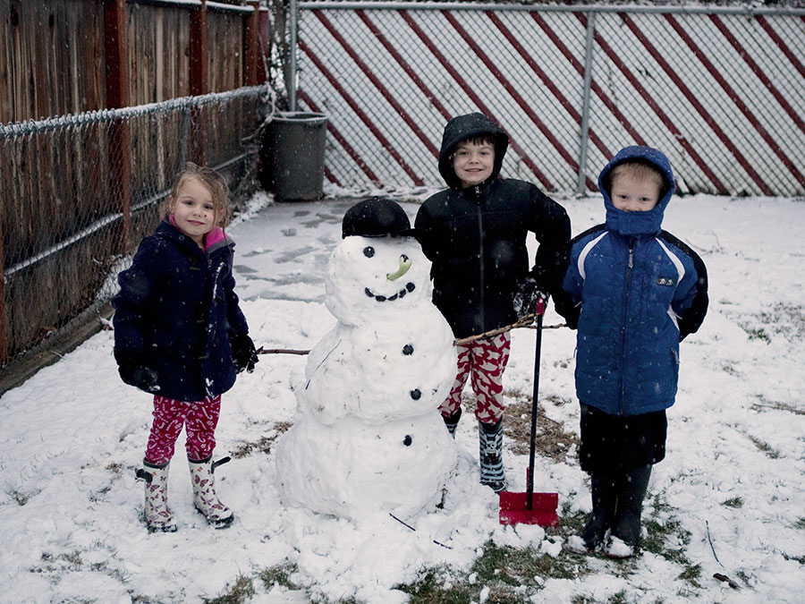 Adored by Meghan's holiday traditions to start or continue with your family Build a Snowman