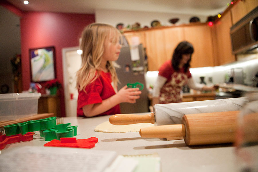 Adored by Meghan's holiday traditions to start or continue with your family Decorate Cookies