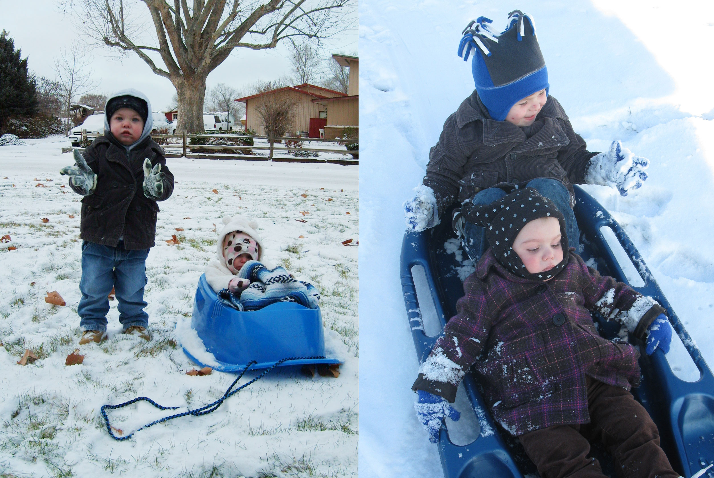 Adored by Meghan's holiday traditions to start or continue with your family Go Sledding