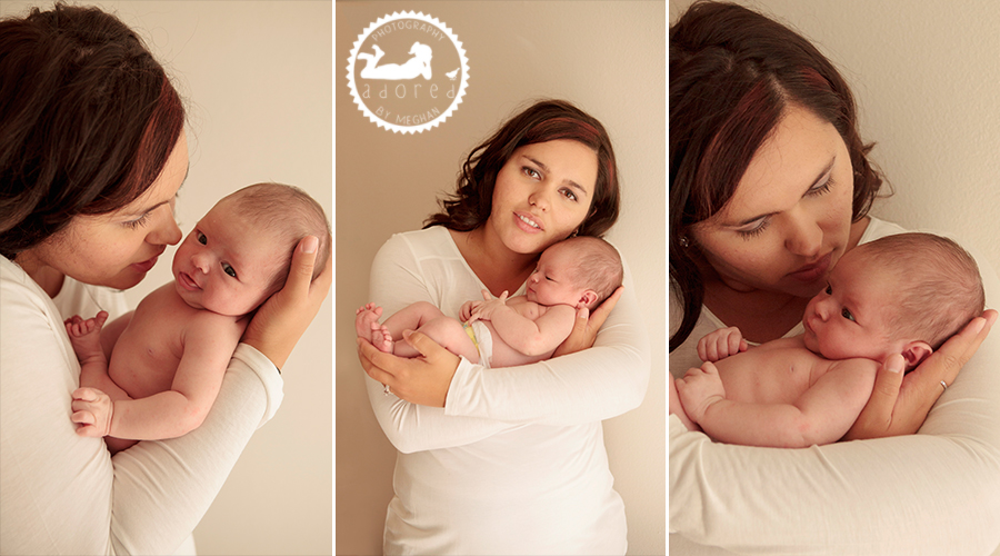 Moses Lake Newborn Photographer adored by meghan rickard photography