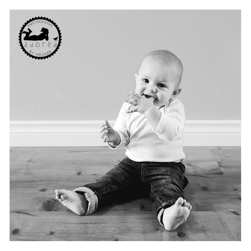 In home baby portraits, classic lifestyle photography by Adored by Meghan Rickard