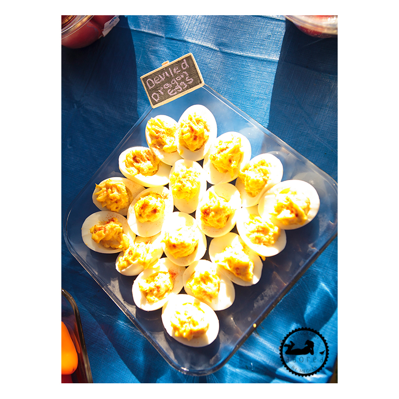 Harry Potter party food: deviled dragon eggs