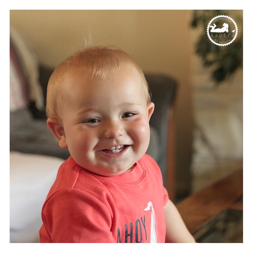 Spokane, WA first birthday boy