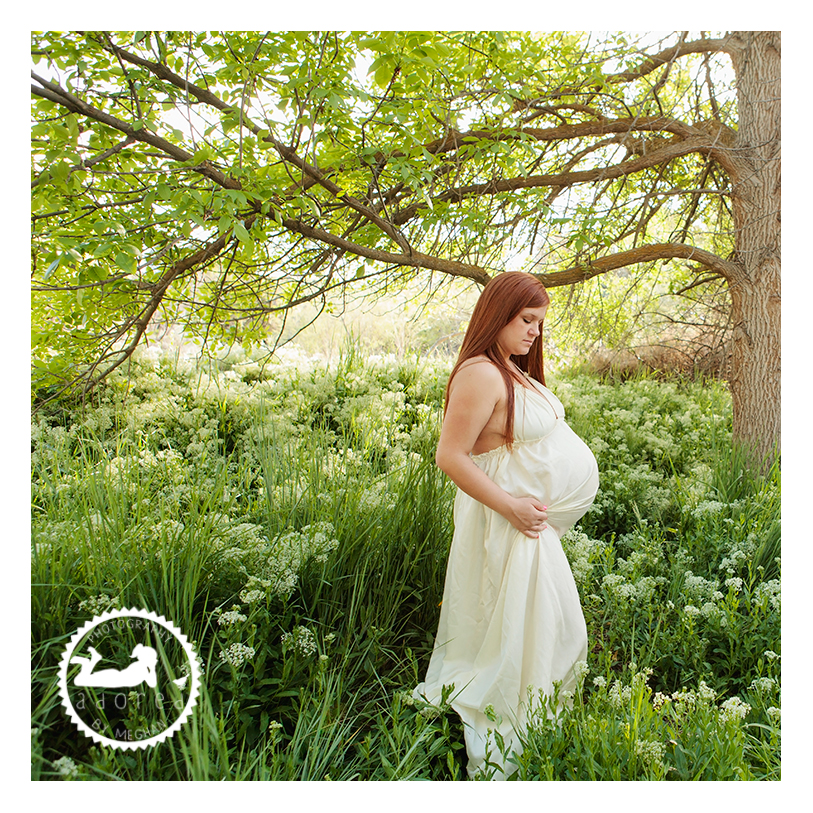 Beautiful maternity portraits in Kennewick WA