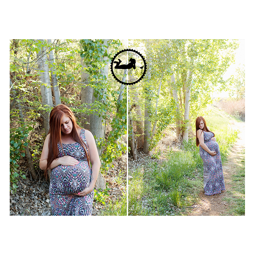 Maternity portraits. Pregnancy photos.