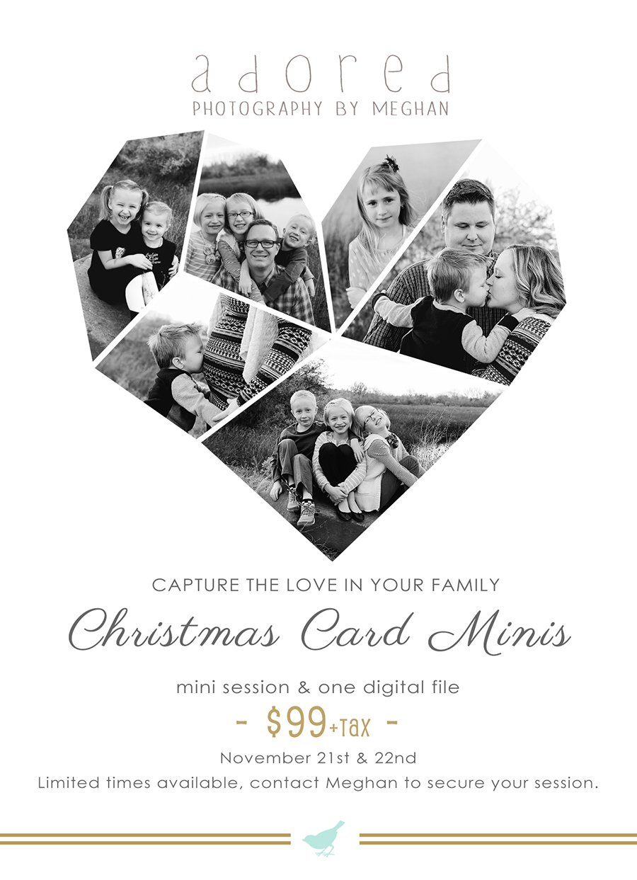 Kennewick Richland Pasco WA Christmas Card Mini-Sessions by Adored by Meghan