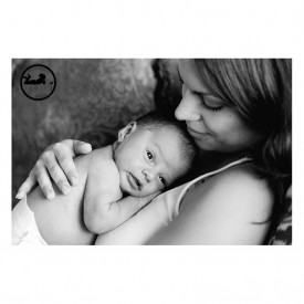 New Momma and new baby, black and white portrait. Photos by Adored by Meghan Rickard photography, Tri-Cities, WA