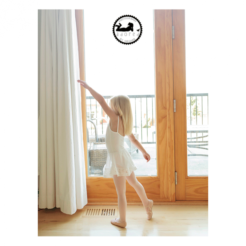 Little Ballerina. Children's Lifestyle photography. Adored by Meghan