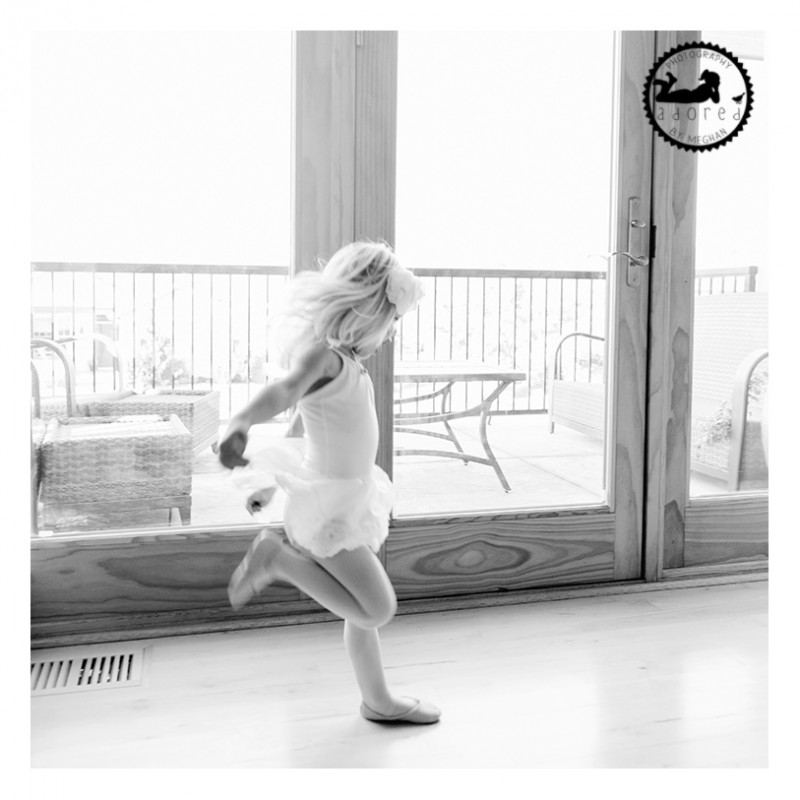 Ballerina in motion. Photography by Adored by Meghan