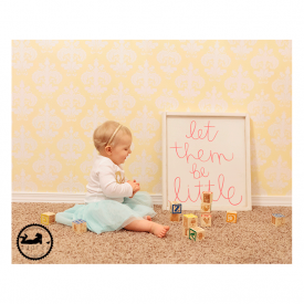 Let them be little. 1st Birthday Session, in home, lifestyle. Kennewick, WA Photographer, Adored by Meghan Rickard photography