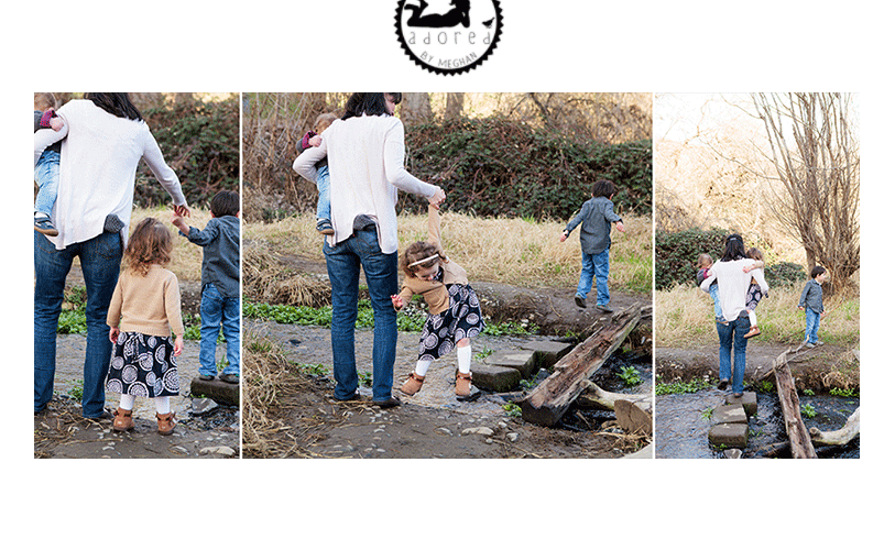 """Down by the Bay"" Children's lifestyle on-location portrait session, Kennewick, WA, Adored by Meghan Rickard photography."