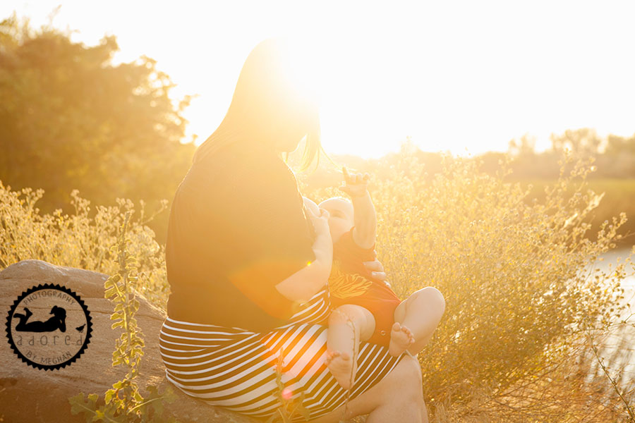 Breastfeeding sessions for Moms in the Tri-Cities, WA, special discounts during World Breastfeeding Week, August 1-7th, 2016. Photographer Adored by Meghan Rickard photography.