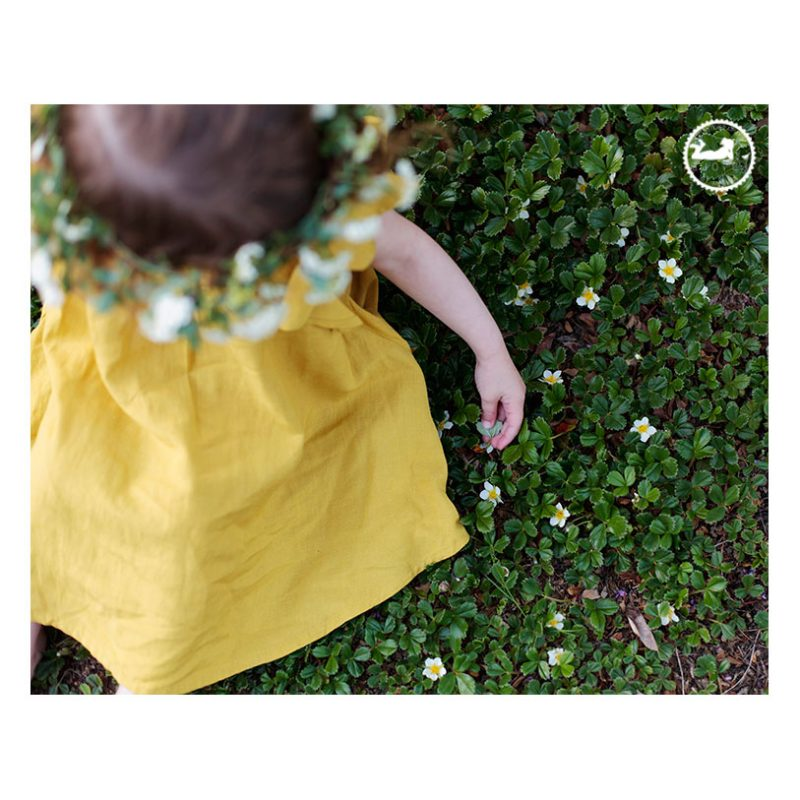 Tri-Cities WA Children's Photographer. Garden sprite, a Mother-Daughter session with Adored by Meghan. Picking flowers