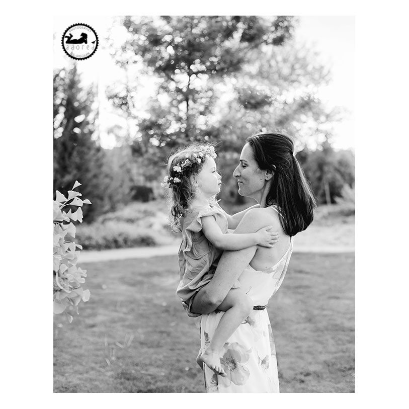 Kennewick Motherhood Photographer, photographing a Mother's love. Beautiful Mother-Daughter session by Adored by Meghan. Stolen moments in the beautiful evening light