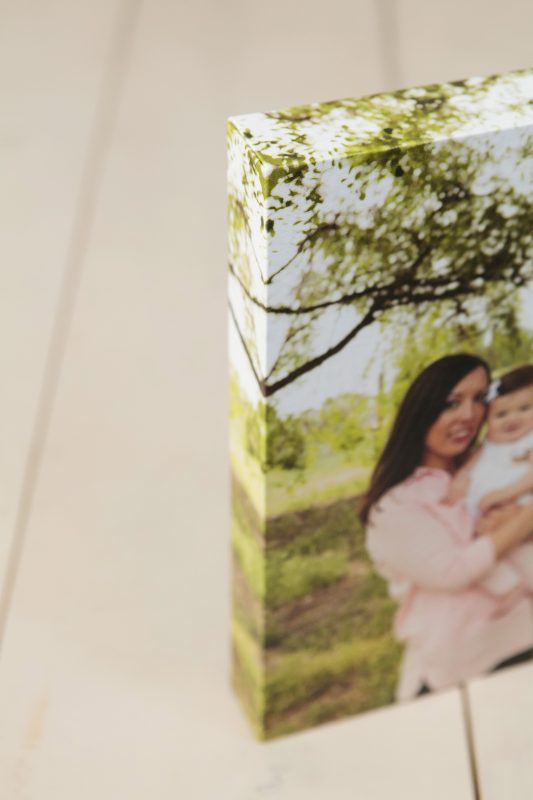 Details on the canvas wall art piece, offered by Adored by Meghan, Tri-Cities, WA family photographer.