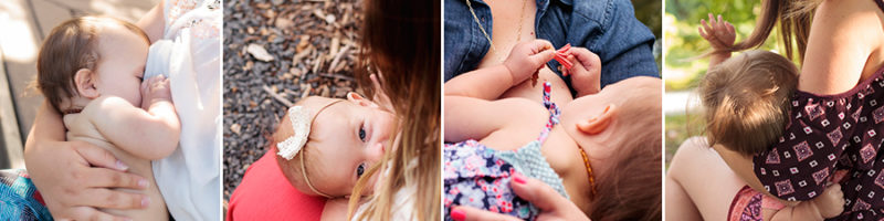 2017 Nursing Mini-Sessions in Kennewick, WA in honor of World Breastfeeding Week. Photographer: Adored by Meghan