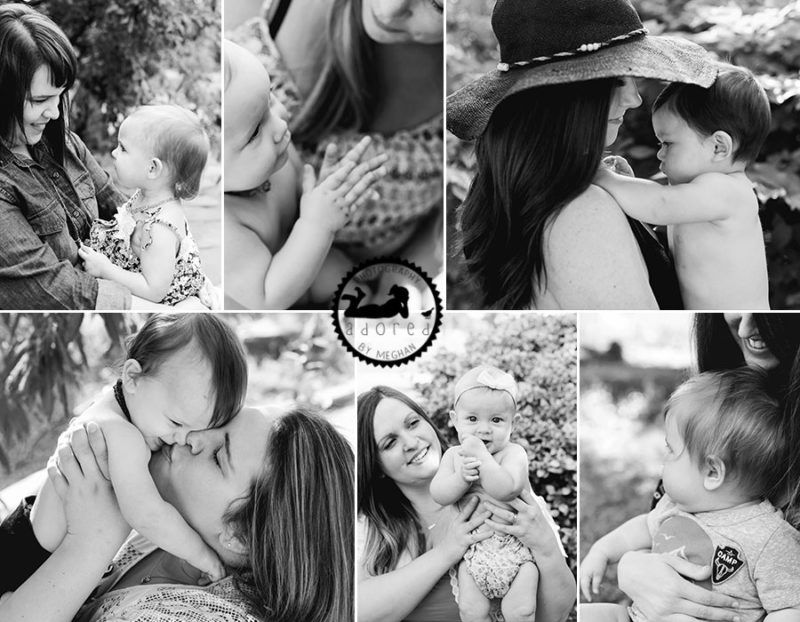 World Breastfeeding Week Portrait Sessions with Adored by Meghan in Tri-Cities, WA.