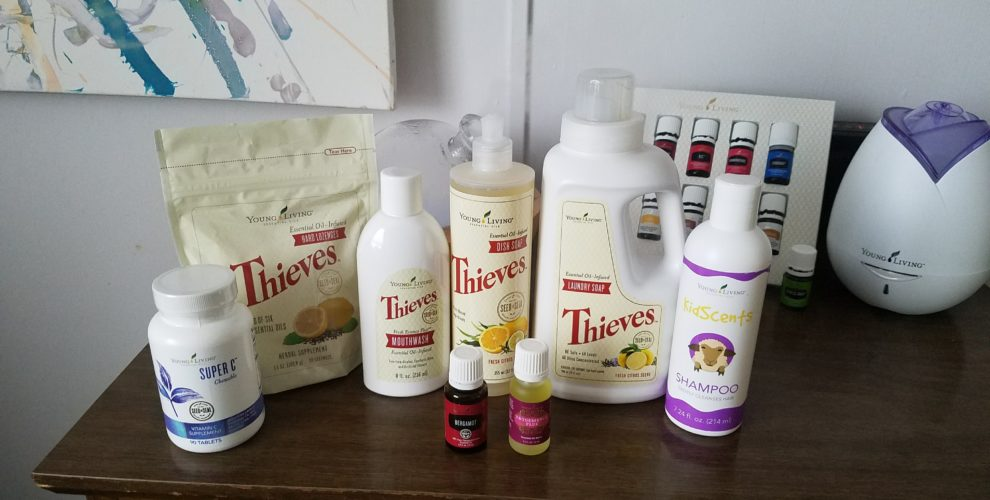 October 2017 Essential Rewards FREE products. For wellness all around, check out what our family needed this month. All of these fabulous products are from Young Living Essential Rewards.