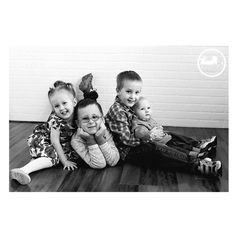 Portrait of siblings by Adored by Meghan Rickard photography Richland WA
