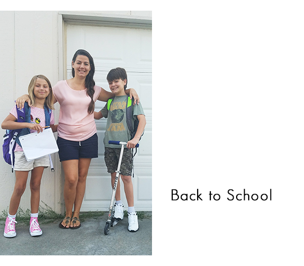 Moms, get in the photos when it's the first day of school