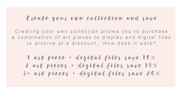 Create-a-collection pricing with Adored by Meghan in Kennewick, WA.