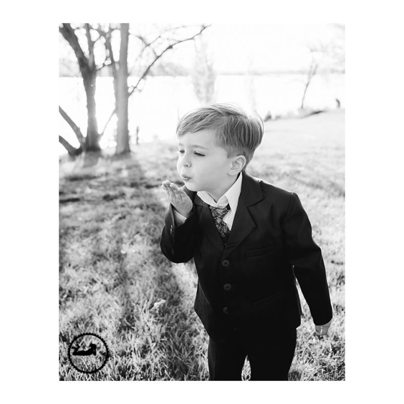 Blowing kisses during his photos with Adored by Meghan, Tri-Cities, WA
